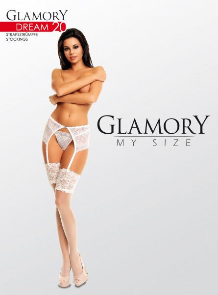 Glamory Dream 20 Strapsstrümpfe