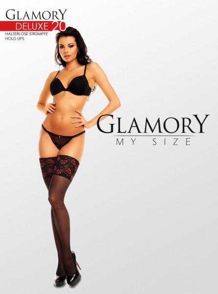 Glamory Deluxe 20 halterlose Strümpfe