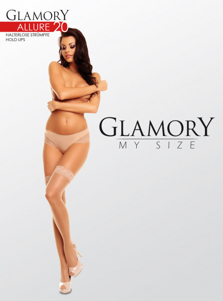 Glamory Allure 20 halterlose Strümpfe