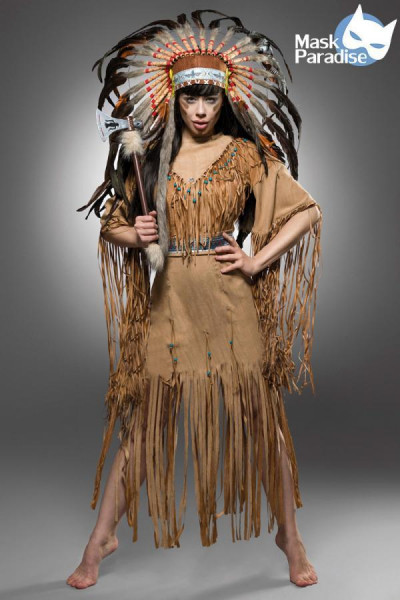 Indianerinkostüm: Native American