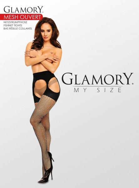 Glamory Mesh Ouvert Netzstrumpfhose