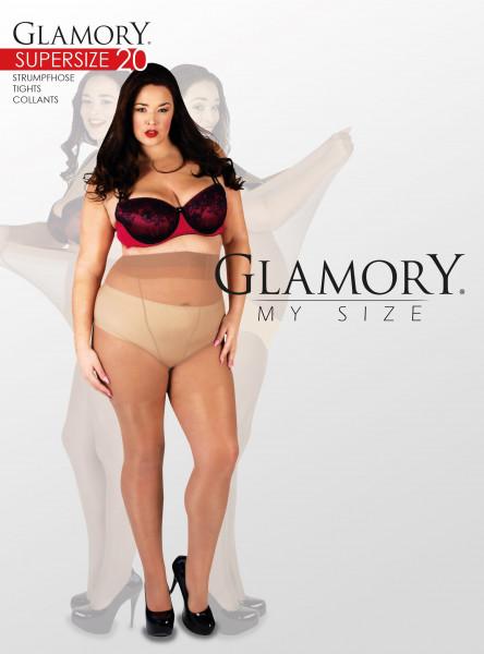 Glamory Supersize 20 sehr große Feinstrumpfhose