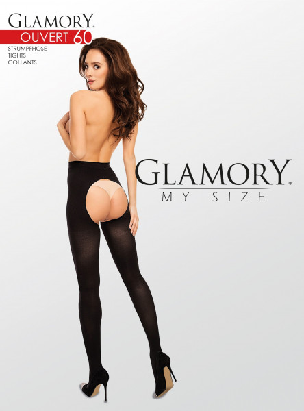 Glamory OUVERT 60 - Edle Strumpfhose