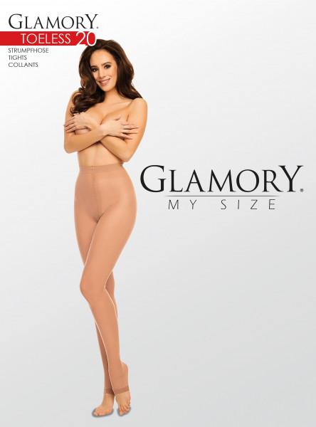 Glamory Toeless 20 Zehenfreie Feinstrumpfhose