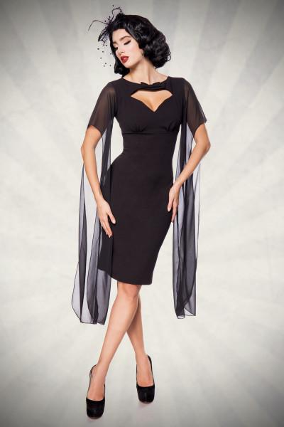 Retro Kleid schwarz